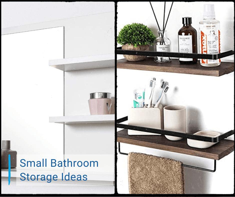 Small Bathroom Storage Ideas How To, Small Shelves For Bathroom